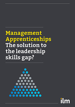 Management Apprenticeships: The solution to the leadership skills gap?