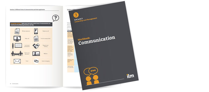 ILM Management Apprenticehip workbooks