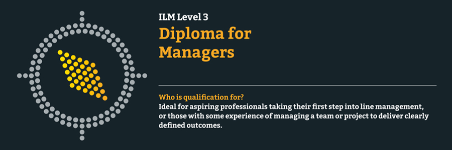ILM Level 3 Diploma for Managers