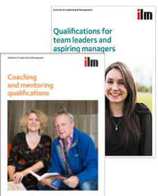 ILM Coaching and Mentoring brochure